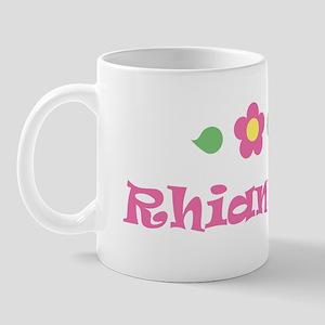 """Pink Daisy - """"Rhiannon"""" Mug"""