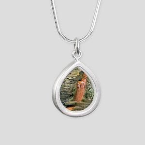 well Silver Teardrop Necklace