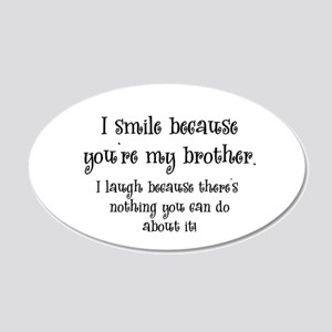 smilebrother Wall Decal