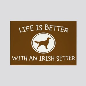 Irish Setter Rectangle Magnet
