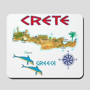 crete_t_Shirt_maP Mousepad
