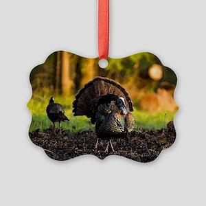turkey003 Picture Ornament