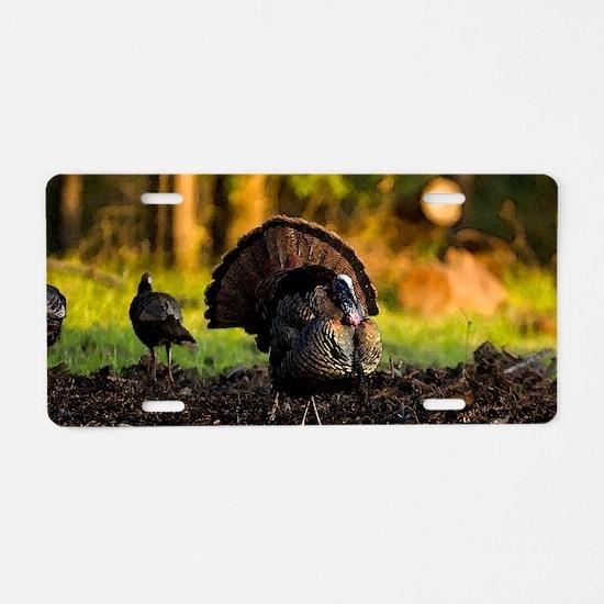 turkey003 Aluminum License Plate