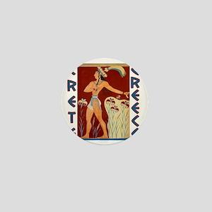 minoan_crete_t_shirt Mini Button
