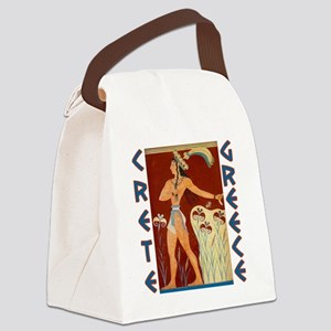 minoan_crete_t_shirt Canvas Lunch Bag
