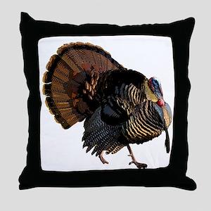 turkey007 Throw Pillow