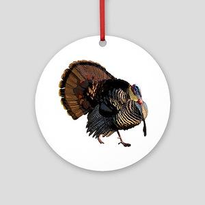 turkey007 Round Ornament