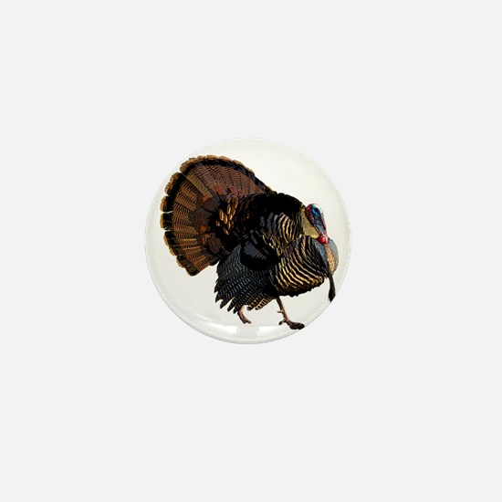 turkey007 Mini Button