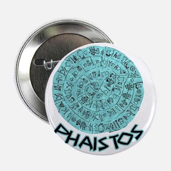 """crete_t_shirt_phaistos 2.25"""" Button"""