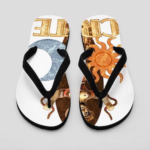 crete_t_shirt_snake_goddess Flip Flops