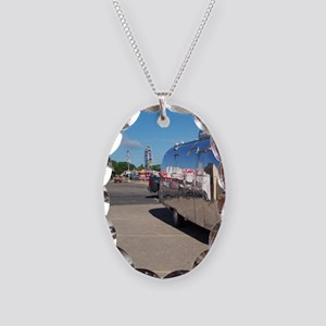 ferriswheelreflection Necklace Oval Charm