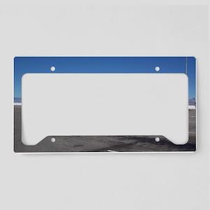 bonnevillesaltflatssafari License Plate Holder