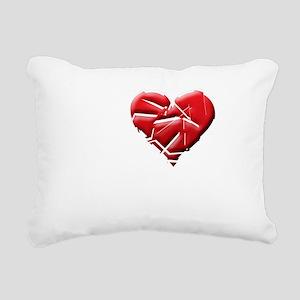 I Heart Rockers Rectangular Canvas Pillow