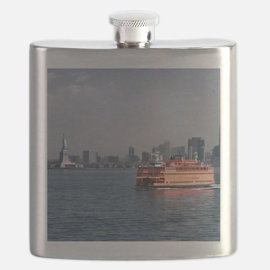 (15) Staten Island Ferry Flask