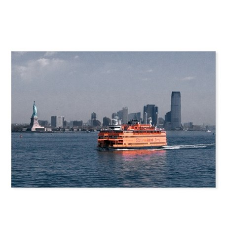 (3) Staten Island Ferry Postcards (Package of 8)