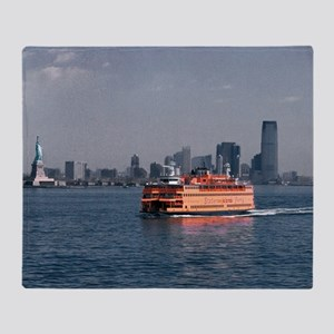 (3) Staten Island Ferry Throw Blanket