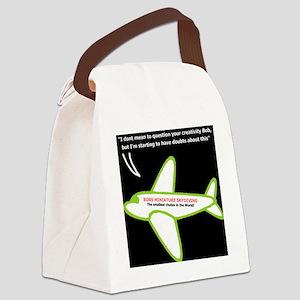skybob_web Canvas Lunch Bag