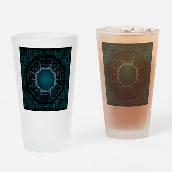 dharma numbers Drinking Glass