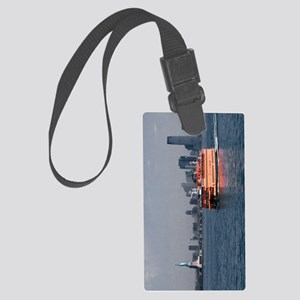 (13) Staten Island Ferry Large Luggage Tag