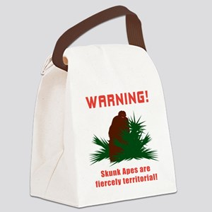 SkunkApeFront Canvas Lunch Bag