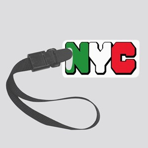 nyc italian Small Luggage Tag