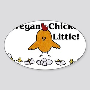 ChickenLittle Sticker (Oval)