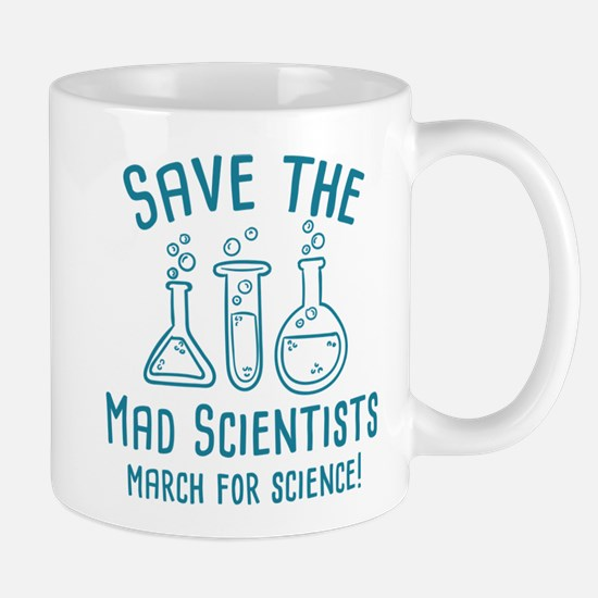 Save The Mad Scientists Mug