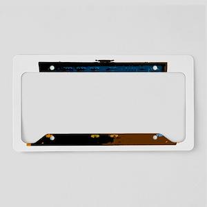 ARP 2600-black License Plate Holder