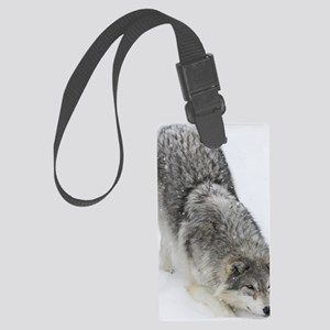 x14 2wolf Large Luggage Tag