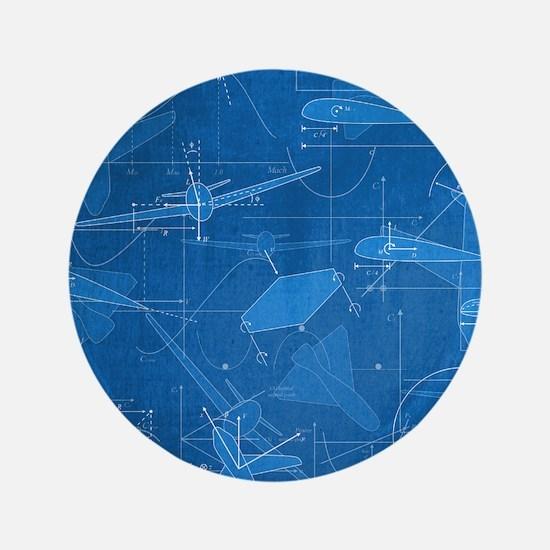 "Aerodynamics 3.5"" Button (100 pack)"