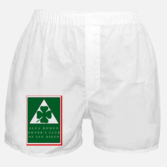 CLUB LOGO Color 2006 w_outline  Boxer Shorts