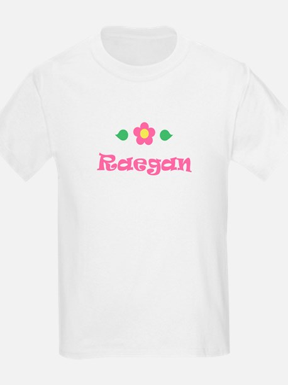 """Pink Daisy - """"Raegan"""" Kids T-Shirt"""