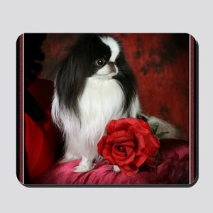Large 5JCSpencerRose4x4 Mousepad