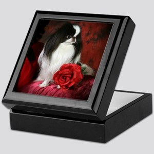 Large 5JCSpencerRose4x4 Keepsake Box