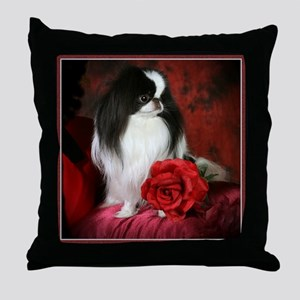 Large 5JCSpencerRose4x4 Throw Pillow