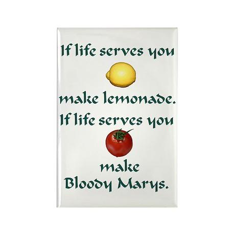 Lemonade Rectangle Magnet (10 pack)
