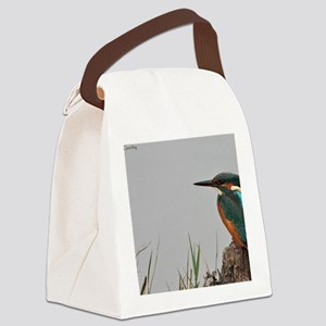 Fem Kingfisher Canvas Lunch Bag