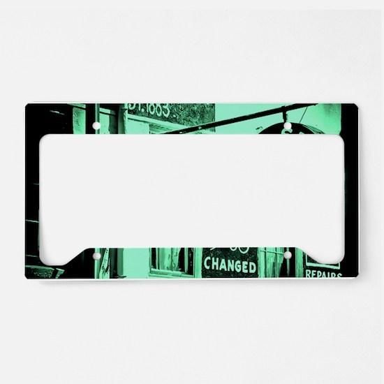 Bradleys License Plate Holder