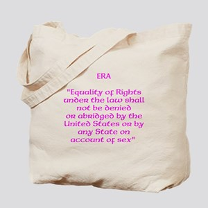 ERA text Tote Bag