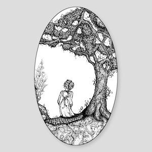 Junipertree Sticker (Oval)