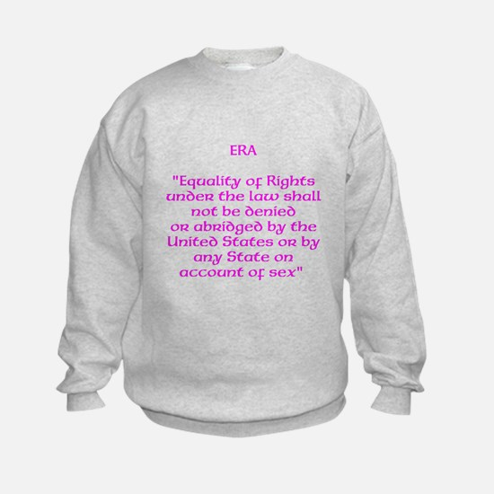 ERA text Sweatshirt