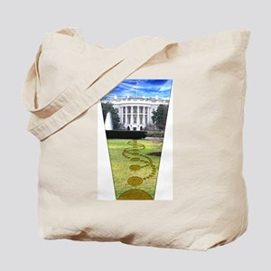 White House Crop Circle Tote Bag