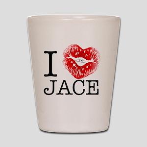 I_HEART_JACE Shot Glass