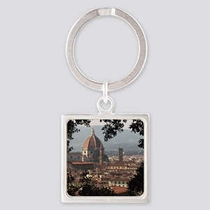 Florence Square Keychain