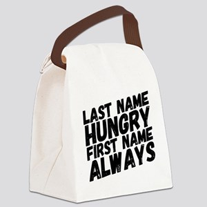 Always Hungry Canvas Lunch Bag