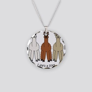 alpacalight Necklace Circle Charm