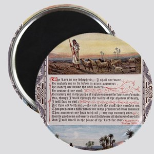 The_Sunday_at_Home_1880_-_Psalm_23 Magnet