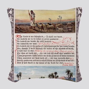 The_Sunday_at_Home_1880_-_Psal Woven Throw Pillow