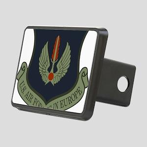 2-USAF-USAFE-Shield-Subdue Rectangular Hitch Cover