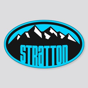 Stratton VT Sticker (Oval)